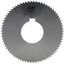 ".016"" Thick x 2-3/4"" Diameter x 1"" Arbor Hole 72 Teeth HSS Screw Slotting Saw"