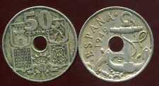 ESPAGNE  50 centimos 1949  ( 53 )