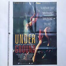 Emir Kusturica - UNDERGROUND - 1995 Australian ONE SHEET BILL