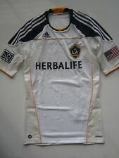 Adidas LA Galaxy Techfit Player Issue Home Soccer Jersey Donovan Beckham Size L