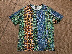 Zara Man XL Colorful Multicolor Tee T Shirt Short Sleeve