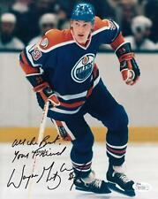 WAYNE GRETZKY #8 REPRINT AUTOGRAPHED SIGNED 8X10 PICTURE PHOTO OILERS NY RANGERS