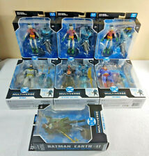 McFarlane Toys DC Multiverse Lot Of 7 ~ Robin Variants x3 ~ Complete Build