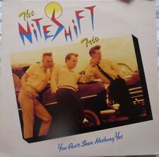 THE NITESHIFT TRIO you ain't see nothing yet LP NEO ROCKABILLY
