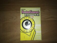 Pocket Camera Nintendo Game Boy color Yellow Japan Import