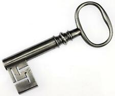 "Antique Georgian/Victorian Strongbox/Safe Key 3⅝"" - My Ref.S57"