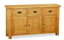Oakvale Large Sideboard / 3 Door 3 Drawer Cabinet / Cupboard