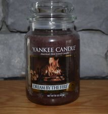 Yankee Candle Dream by the Fire 22 oz Jar! Priority Shipping! Sold Out! Yummy!