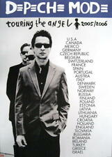 DEPECHE MODE POSTER TOURING THE ANGEL / H