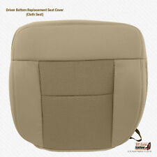 2004 2005 2006 Ford F150 XLT Driver Side Bottom Replacement Tan Cloth Seat Cover