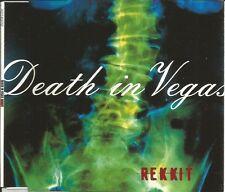 DEATH IN VEGAS Rekkit w/ 3 RARE MIXES Europe CD Single SEALED USA seller 1997