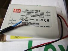 Mean Well PLD-25-1400, Constant Current LED Driver 25.2W 1.4A - Wall 7381646