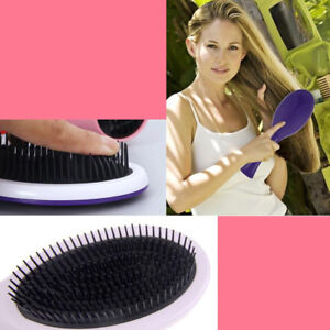 Magic Portable Anti-static Hair Brush Salon Tangle Detangling Comb Massage Tool