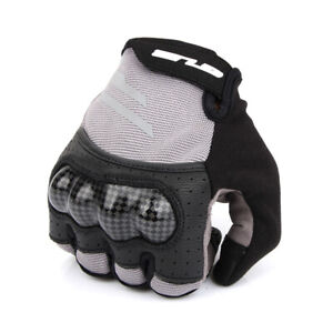 Unisex Winter Cycling Bicycle Outdoor Gloves Touchscreen Camping Half Fige S048