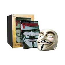 V For Vendetta Book and Mask Set by Alan Moore (author), David Lloyd (artist)