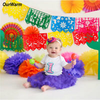 Mexican Flag Banner Bunting Fiesta Garland Wedding Spanish Party Papel Picado