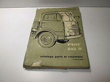 Manuale ricambi Fiat 645N  edizione 1960  [3622.17]
