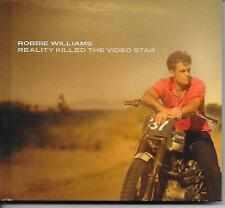 ROBBIE WILLIAMS - Reality killed the video star CD + DVD (DELUXE EDITION) 2009