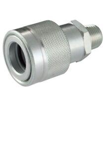 Quick Release Screw Coupler High Pressure 700 Bar 3/8npt