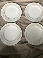 Set Of 4 Milancia 327 Ekco Prudence Home Products DINNER PLATES