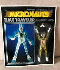 Vintage 1976 Mego Corp Micronauts Time Traveler Space Figure New In Package!