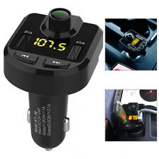 Car Fm Transmitter Bluetooth Charger Black 12-24V Replacement Accessories Radio