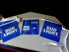NEW 22' Bud Light Refreshed Retro Iconic Beer String Banner Man Cave Budweiser