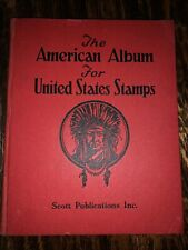 The American Album For United States Stamps Scott Publications Inc. 1939