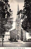 A22/ Phelps New York NY RPPC Postcard c1950 Presbyterian Church