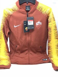 Nike AS Roma 2018/19 Youth Unisex Anthem Football Track Jacket Size L AQ2113-693