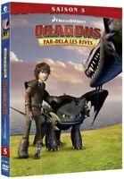 COFFRET 2 DVD NEUF ***DRAGONS PAR-DELA LES RIVES SAISON 5 *** DREAMWORKS