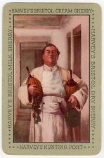 Playing Cards 1 Single Swap Card - Old HARVEY'S BRISTOL CREAM SHERRY Friar Monk