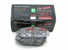 SET OF 4  NEW KELSEY-HAYES 14-617-12 FRONT PRO SERIES DISC BRAKE PADS
