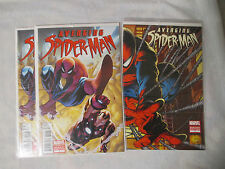 3x Avenging Spider-Man 1 Quesada variant factory sealed bagged