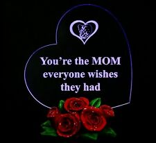Mother's Gifts Heart LED Light, Present for Her Birthday Gift for MOM