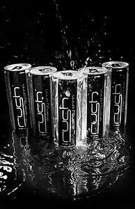 TWO CASE DEAL OF RUSH ENERGY DRINK ( 48 x 250ml cans )