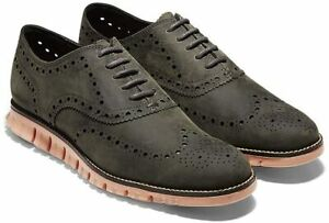 Mens Cole Haan Zerogrand Wing Oxford - Magnet/Sunset, Size 10 [C29672]