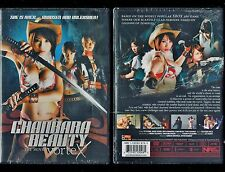 Chanbara Beauty Movie - Vortex (Brand New DVD, 2013) - Rare, Hard To Find
