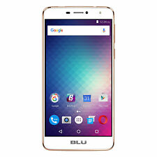 BLU Studio XL2 16GB Unlocked GSM 4G LTE Quad-Core Phone w/ 13MP Camera - Gold