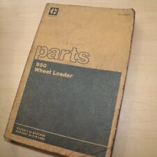 Cat Caterpillar 950 Front End Wheel Loader Parts Manual Book Catalog Spare List
