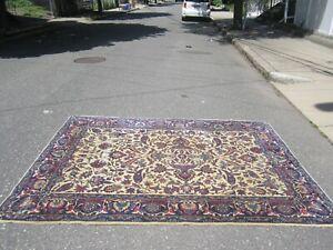 old estate antique LILIHAN heriz serapi oriental rug