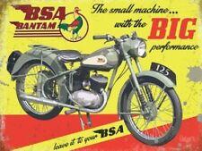 BSA Bantam Motorcycle British Classic Motorbike Fridge Magnet