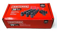 "Craftsman CMMT42031 28 PC 1/2"" Drive Impact Bit Socket Set"