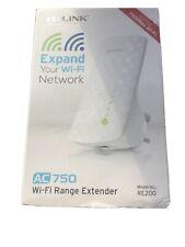 TP-LINK AC750 WiFi Range Network Extender (RE200) Dual Band 5GHz 2.4GHz UK PLUG