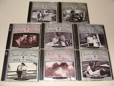 Classic Love Songs of Rock n Roll 8 Volume CD (16 discs) Time-Life 2003