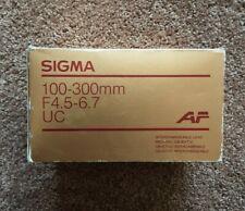 Sigma 100-300mm F4.5-6.7 UC For Pentax AF