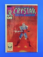 THE SAGA OF CRYSTAR, THE CRYSTAL WARRIOR #4 MARVEL COMICS 1983 VF/NM