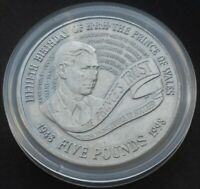 1998  £5 (CROWN) PRINCE CHARLES 50TH BIRTHDAY.1998 FIVE POUNDS COIN