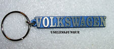 "BLUE VW VOLKSWAGEN KEY CHAIN 3 "" LONG FREE SHIPPING"
