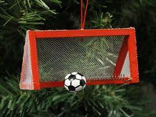 Soccer, Futbol Goal Christmas Ornament